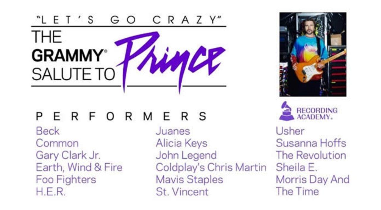 Confirmados para el Homenaje a Prince