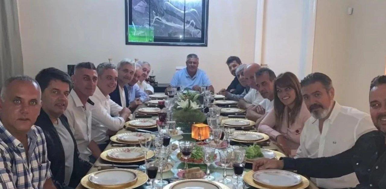 Reunión entre Tapia y presidentes de clubs del fútbol argentio.