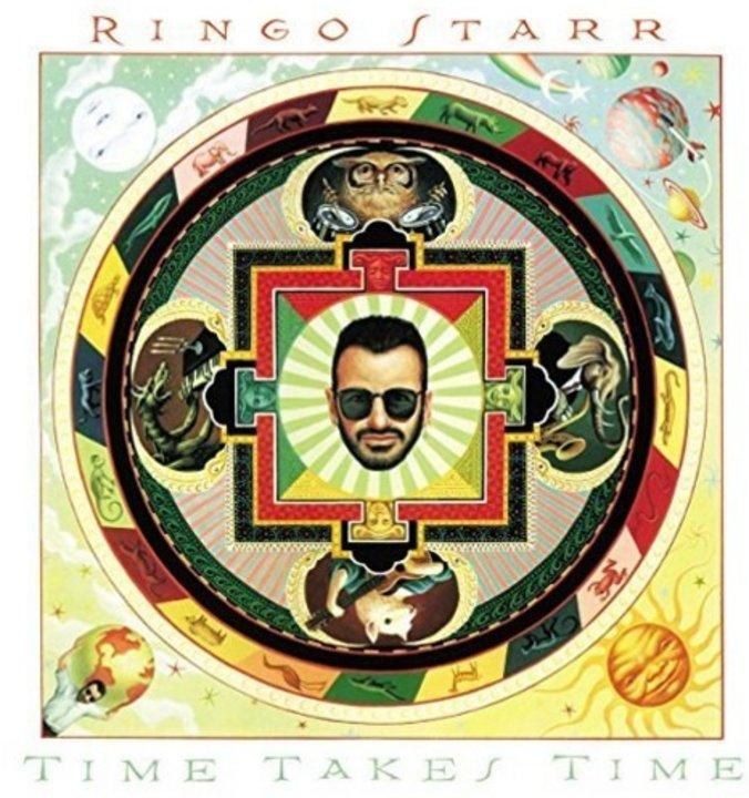"""""""Time takes Time"""" (1992) album solista de Ringo en el que estaría el demo inédito que se subasta"""