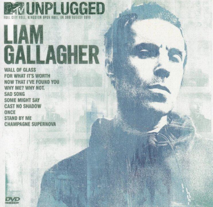 Liam presentó su MTV Unplugged solista