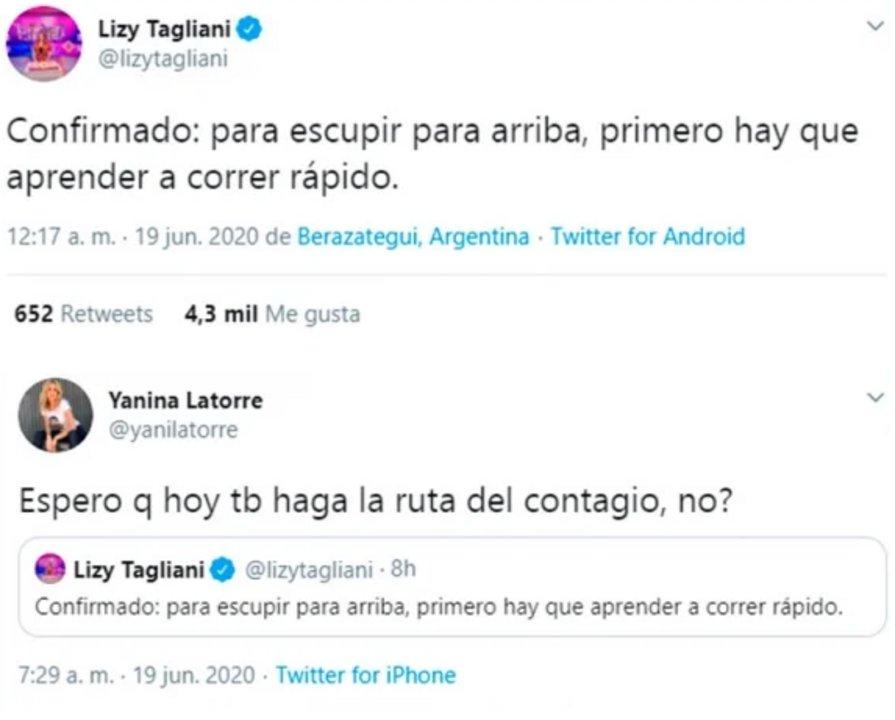 Lizy Tagliani y Yanina Latorre picantes contra Jorge Rial