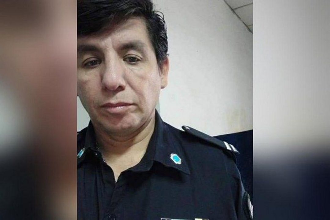 Oscar Pagano, oficial de la policía bonaerense en el comando de San Martín